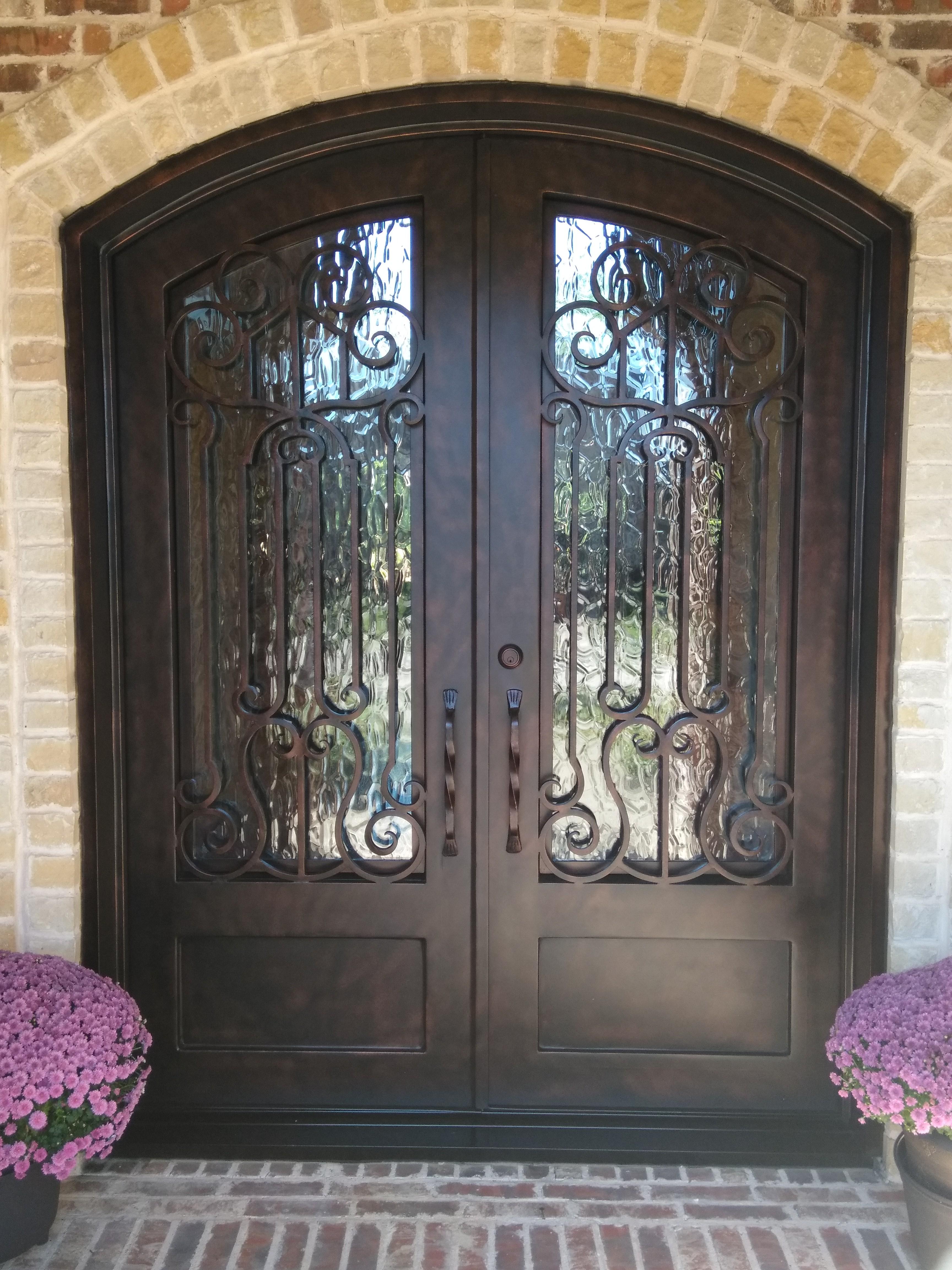 Door Refinished Door Refinished Door Refinished Door Refinished Door & Gallery Wrought Iron Door \u0026 Gate- Repair| Repaint| Refinish| Restore